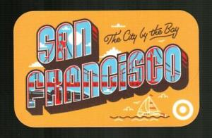 TARGET San Francisco The City by the Bay 2019 Gift Card ( $0 ) [ 2646 ]