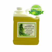 1 Gallon / 7Lb GRAPESEED OIL by Dr.Adorable Grape Seed 100% Pure Organic Free SH