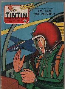 Journal TINTIN n° 446 du 9 mai 1957. Très Bel état - Couverture GRATON