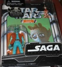 """STAR   WARS   GREEDO   SAGA  COLLECTION  33/4"""" Action  Figure  yr2006"""