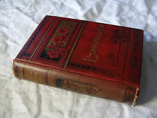 c1895 The POETICAL WORKS of Henry Wadsworth LONGFELLOW - Decorative Binding