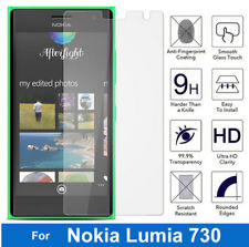 100 Genuine Tempered Glass Screen Protector for Nokia LUMIA Microsoft 735 / 730