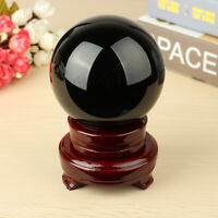 100MM Obsidian Sphere Crystal Natural Grounding Ball Healing Stone With