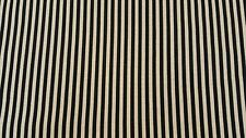 Discount Fabric Upholstery Black Oatmeal Stripe Upholstery & Drapery