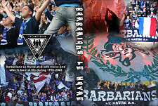 DVD BARBARIANS LE HAVRE 1998-2002    (ULTRAS,SUPPORTERS,FANS,FAN,SUPPORTER,NUL)