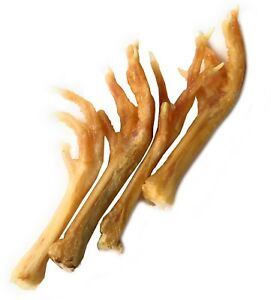 Chicken Feet For Dogs (7 ounces) | Made in the US or EU| by 123 Treats