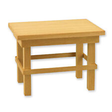 Reutter Porzellan Arbeitstisch Tisch Holz leer Puppenstube 1:12 Art 1.753/0