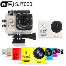Sliver SJ7000 12MP Full HD 1080P 2.0 Inch WiFi Sport Helmet Cam Camera as gopro
