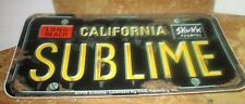Sublime Sticker 1998 Metal Super Collectible Rare Vintage