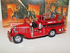 MATCHBOX MODELS OF YESTERYEAR 1932 FORD AA OPEN CAB FIRE ENGINE  YFE09