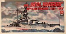 "ZTS Plastyk 1/500 HMS ""Royal Sovereign"" Brytyjski Pancernik 1916-1949 S-112"