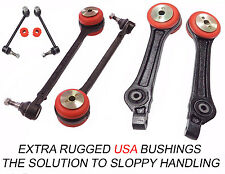 8PC Front Lower Rear Control Arm Set Sway Bar Link Bushings 300 Charger Magnum