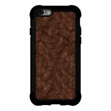 Apple iPhone 6/6s -Black/Burl Wood Ballistic TO1423-A98Y Tungsten Tough Case