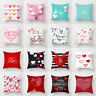 18inch Love Letters Polyester Cushion Cover Throw Pillow Case Skull Home Decor