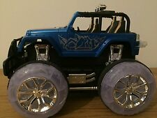 4X4 OFF ROAD MONSTER TRUCK RECHARGEABLE Radio Remote Control Car STUNT MUSIC 4WD