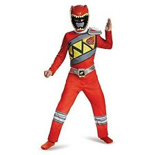 Disguise Di82757-s Red Ranger Dino Charge Classic Costume for Kids Small