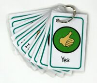 Communication Flash Cards - Autism, ADHD, Visual Non Verbal Communication, SEN,