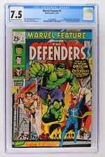 Marvel Feature #1 - Marvel 1971 CGC 7.5 Origin and 1st Appearance of the Defende