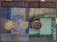 2 euro Andorre 2015 Majorité à 18 ans + Union Douanière