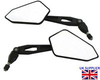 Motorbike Wing Mirrors To Fit: CCM Supermoto 604 644 - Great Quality Black PAIR