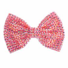 Pasadores rosas rosa para el cabello de niña