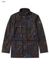 Belstaff x Sophnet. Roadmaster Camo Jacket Deep Electric Blue 54 X-large