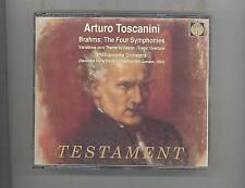 (CD) Brahms: The Four Symphonies /3CDs/ Toscanini; Philharmonia Orch /TESTAMENT