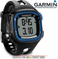 Garmin Forerunner FR15 GPS Speed & Distance Running Sports Watch Black/Blue