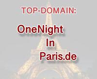 TOP-Domain OneNightInParis.de für Reise, Tourismus, Hotel etc.