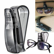 Car Sun Visor Glasses Sunglasses Ticket Receipt Card Mount Clip Storage Holders