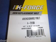 NEW K FORCE  V BELT FITS ARIENS SNOW BLOWERS  72130  B1AR201 SB