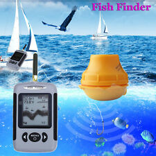 Smart Sonar Wireless Fishfinder Fish Finder Fish Detector Sound Alarm 40M