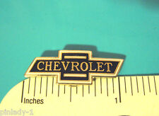 Chevrolet bowtie emblem - hat pin , lapel pin , tie tac , hatpin GIFT BOXED