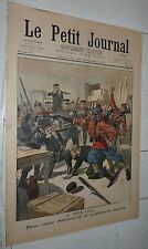 PETIT JOURNAL 1901 RIXE ALLEMANDS AUXILIAIRE ANGLAIS TIEN-TSIN / CALENDRIER 1902