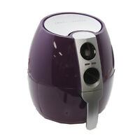Emeril 3.75-qt Rapid Air Fryer w/ 2-in-1 Basket & Accessories - Purple