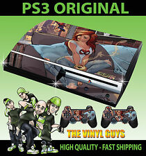 Playstation Ps3 Antiguo forma Mary Jane Spiderman Niña Etiqueta Skin & 2 Pad Skins