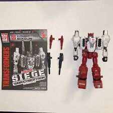 Transformers Siege Six-Gun Complete Deluxe War for Cybertron WFC