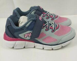 Fila Exolize 2 Girls Running Shoes - Pink/Gray Color - Size11 Super Cute NIB
