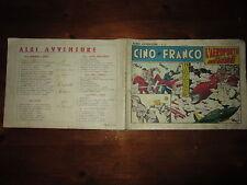 ALBO AVVENTURE NUMERO 39 CINO E FRANCO COLLANA ALBI AMERICANI DEL 7-3-1948