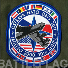 AUTHENTIC 2011 NATO DAYS B-52 PATCH, CZECH REPUBLIC, EXTREMELY RARE, COLLECTIBLE