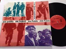 "Joe Public - I've Been Watchin' 1992 Sony Music 12"" LP"