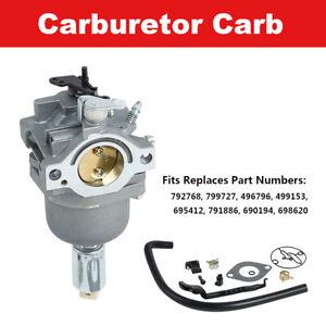 Carburetor Fit For Briggs & Stratton 799727 698620 14hp 15hp 16hp 17hp 18hp Carb