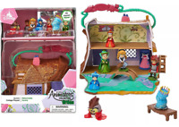 NEW Disney Aurora Cottage Animators Littles Mini 10 Piece Toy Playset & Figures