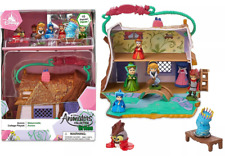 NEW Disney Aurora Cottage Animators Littles Mini 10 Piece Toy Playset & Figures