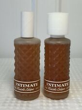 Lot of 2 Brand New Vintage Revlon INTIMATE Eau Fraiche Cologne Sprays 4 oz each