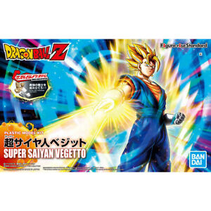 Bandai Dragon Ball Figure-rise Standard SUPER SAIYAN VEGETTO (PKG renewal) Plast