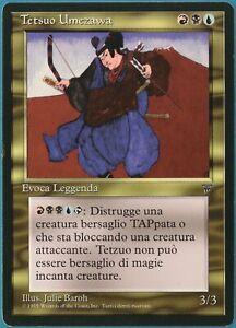 Tetsuo Umezawa Legends (ITALIAN) PLD Blue Black Red Rare CARD (239621) ABUGames