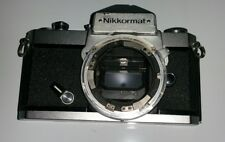 Vintage Nikon Nikkormat FT3 film camera; body only As is