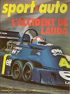 SPORT AUTO 176 1976 GP ALLEMAGNE GP AUTRICHE ESSAI OPEL KADETT GT/E 228CH