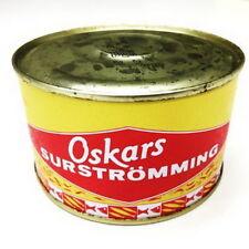 Oskars Surströmming 440g / 300g Fisch Dose (fermentierte Heringe)